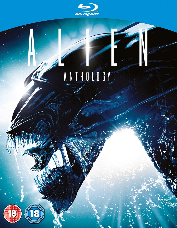 Alien Blu-ray Anthology für 12,16€ inkl. Versand / alle Filme haben eine dt. Tonspur