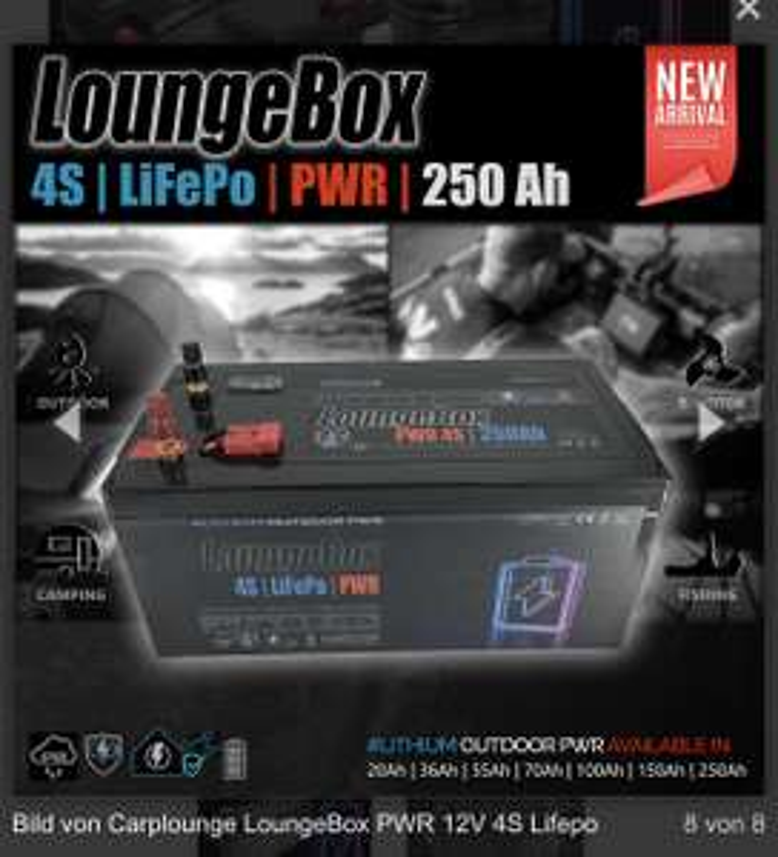 12V LifePo4 Akku's 20Ah - 250Ah 119€ - 899€, Solaranlage , Autarkie Camping, Boot, Tiny, Carplounge Deutschland, günstiger als bei Alibaba