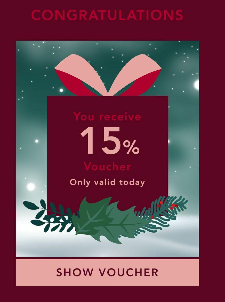 15% auf alles bei BestSecret - Rabatt im Adventskalender