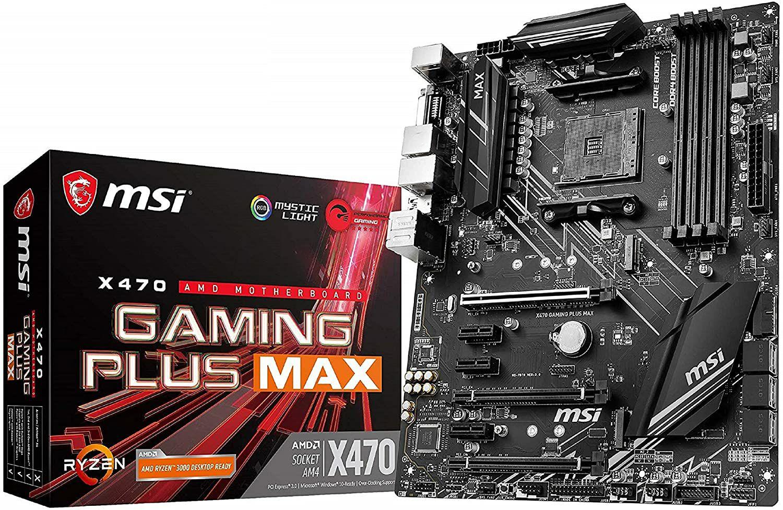 MSI X470 Gaming Plus Max Mainboard ATX - Sockel AM4 (Amazon.es)