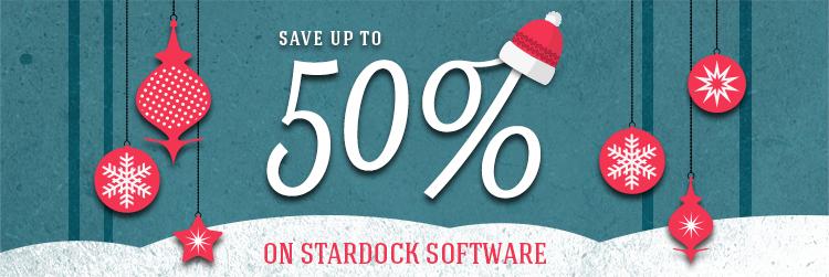 [Stardock] Bis zu 50% im Winter Sale, z.B. Fences für 5,99 $
