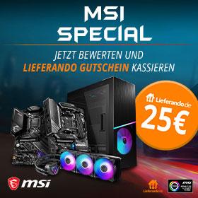 MSI Hardware im Mindstars z.B MSI MPG Sekira 100R | zusätzliche Boni möglich