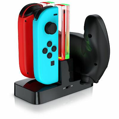 CSL - Ladestation für Nintendo Switch Gamepad - Joy-Con Ladehalterung