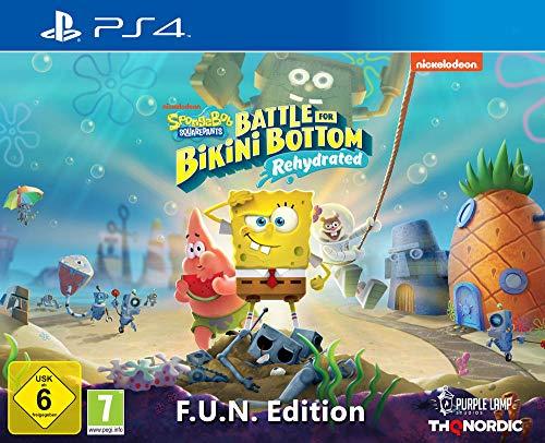 (amazon.de, saturn.de) Spongebob SquarePants: Battle for Bikini Bottom - Rehydrated - F.U.N. Edition [Playstation 4]
