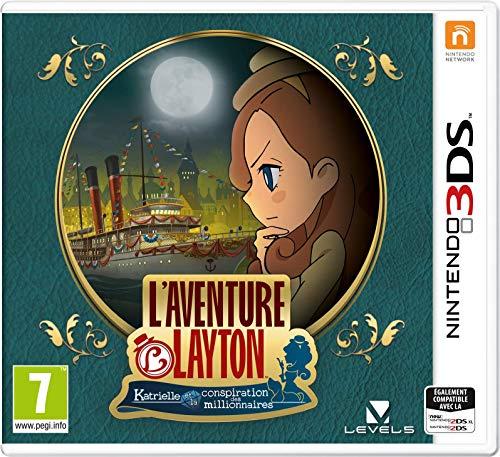 Layton's Mystery Journey: Katrielle und die Verschwörung der Millionäre (3DS) (Amazon Prime)