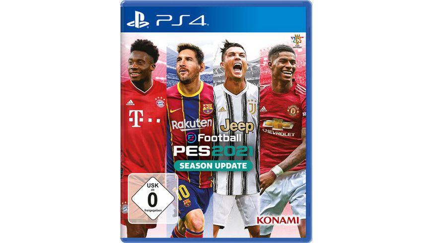 [Müller] eFootball PES 2021 Season Update für PS4 & Xbox One: 14.99 € per Filialabholung