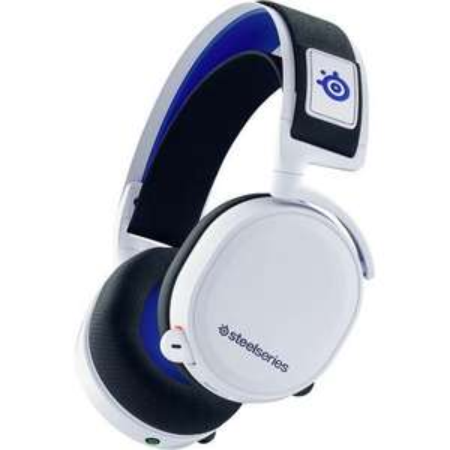 Steelseries Arctis 7P Headset 2.4GHz Funk Stereo, schnurlos Over Ear Weiß