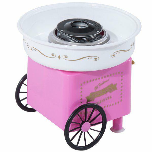 [aosom.de] Homcom Zuckerwattemaschine in pink für 24,40€ inklusive Versand