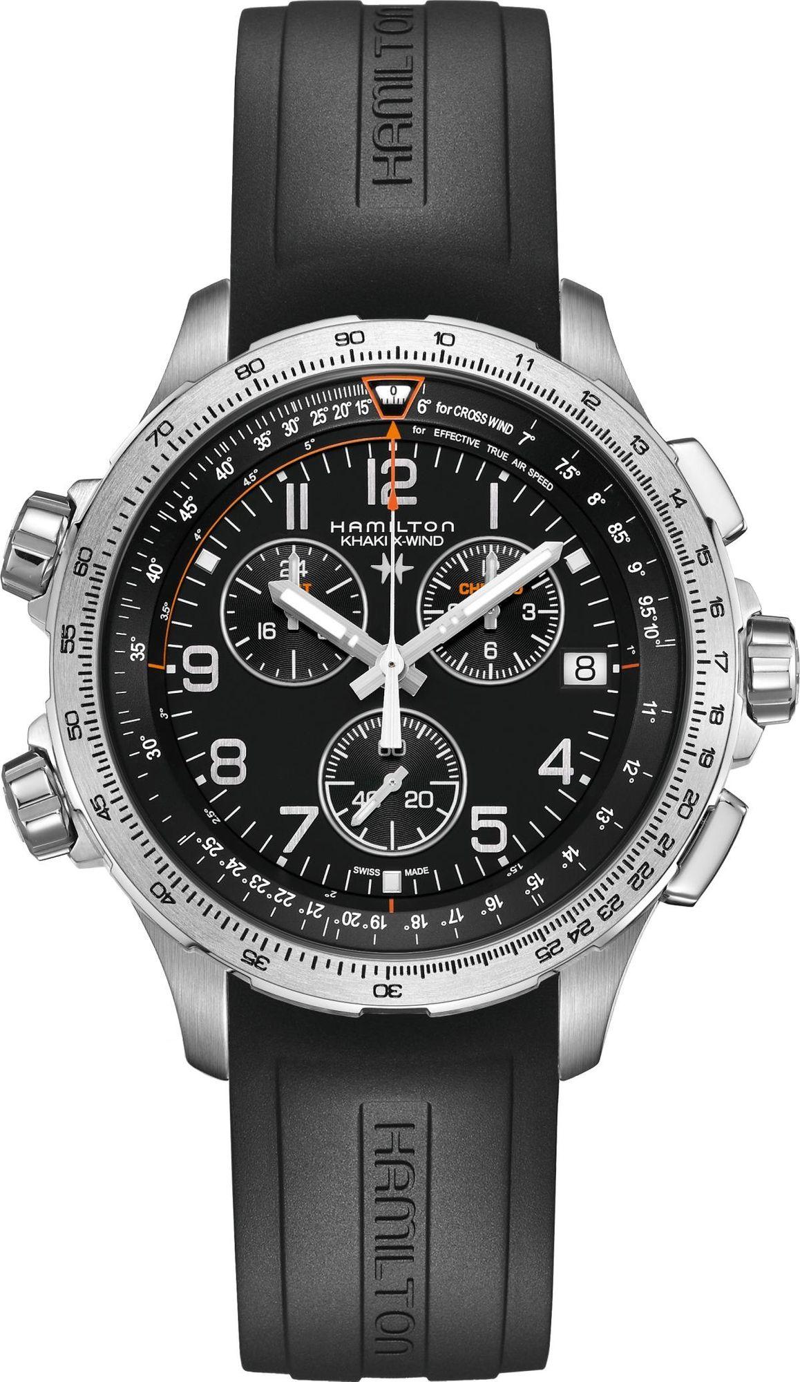 Hamilton Khaki Aviation H77912335 Herrenchronograph Fliegeruhr