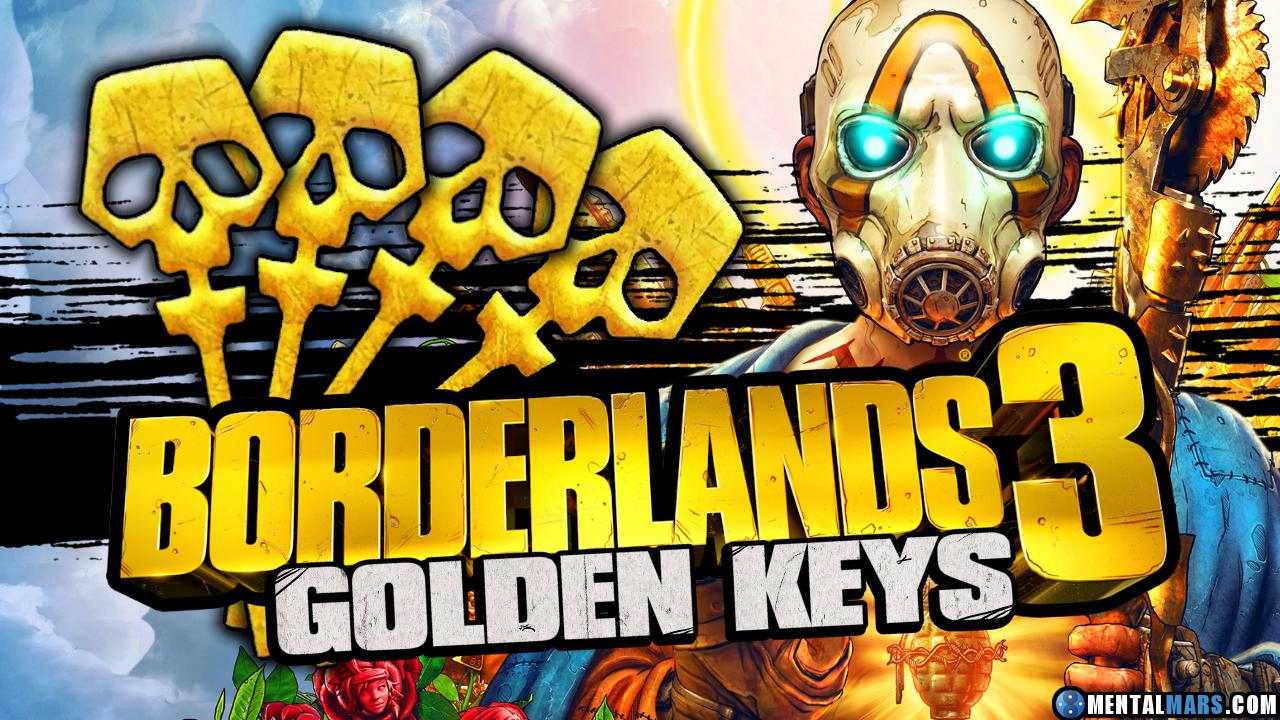 Borderlands 3 - 3 Goldene Schlüssel