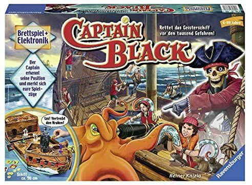 [Amazon Prime] Ravensburger 3D-Brettspiel Captain Black, für 27,30€, 6-99 J.