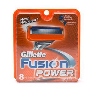 [Müller - Bundesweit] Gillette Fusion Power klingen 8 Stück 19.99