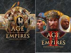[PC] Age of Empires Definitive Edition für 1,41€ & AOE II DE für 2,90€ (Store Microsoft BR)