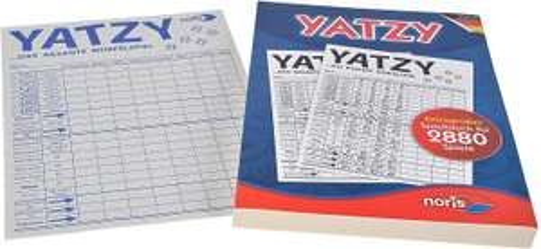 [Amazon Prime] Noris 606194320 Yatzy, 14,5 x 20,7 cm, Extragroßer Yatzyblock für 2.880, ab 6 Jahren