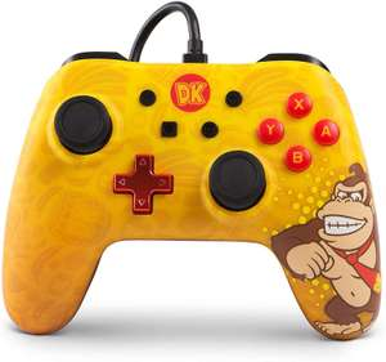PowerA Nintendo Switch Wired ControllerDonkey Kong [Amazon Prime]