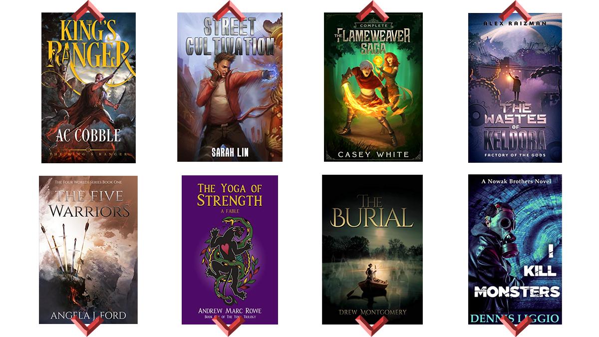 Amazon Kindle - Reddit Weihnachtsspecial; ca. 250 eBooks kostenlos (LitRPG, Fantasy, etc.)