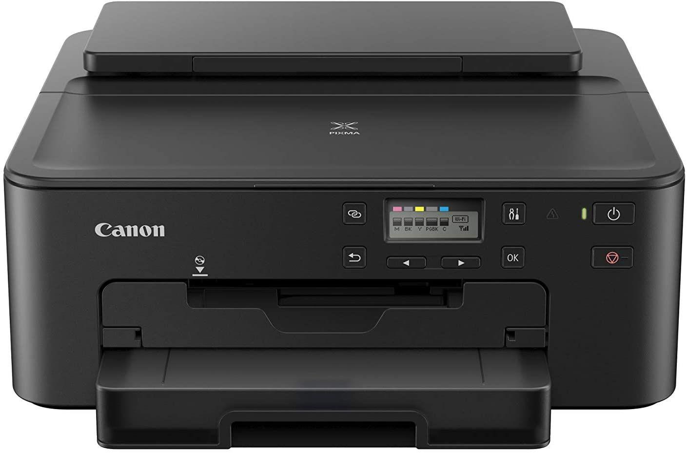 [Amazon Prime] Canon PIXMA TS705 Drucker Tintenstrahl DIN A4 (WLAN, LAN, 5 separate Tinten, automatischer Duplexdruck, 2 Papierzuführungen