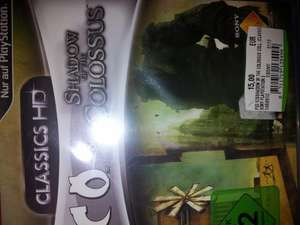 Lokal Hh Ico & Shadow of the Colossus Classics HD 15€