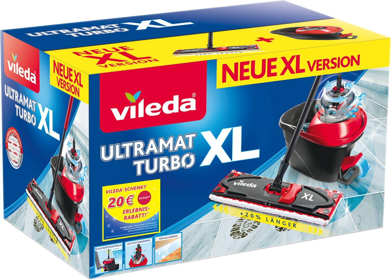[Globus Baumarkt] Vileda Ultramat XL TURBO + 3x Wachsfackel o. 5x Vileda Schwammtuch / inkl. 20 € mydays Gutschein