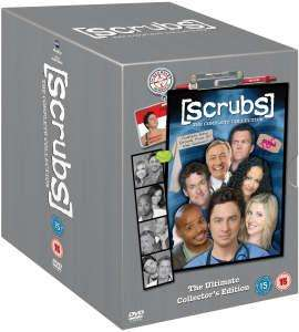 Scrubs - Complete Season 1-9 [DVD]