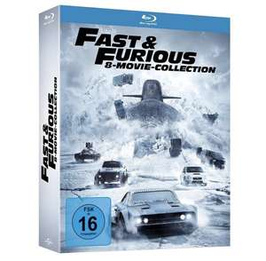 Fast & Furious – 8-Movie Collection [Blu-ray]