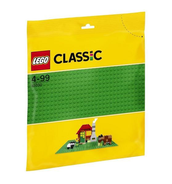 LEGO Classic Grundplatte, grün (10700) oder blau (10714) für je 5,69 Euro versandkostenfrei [Thalia Klub-Mitgliedschaft]