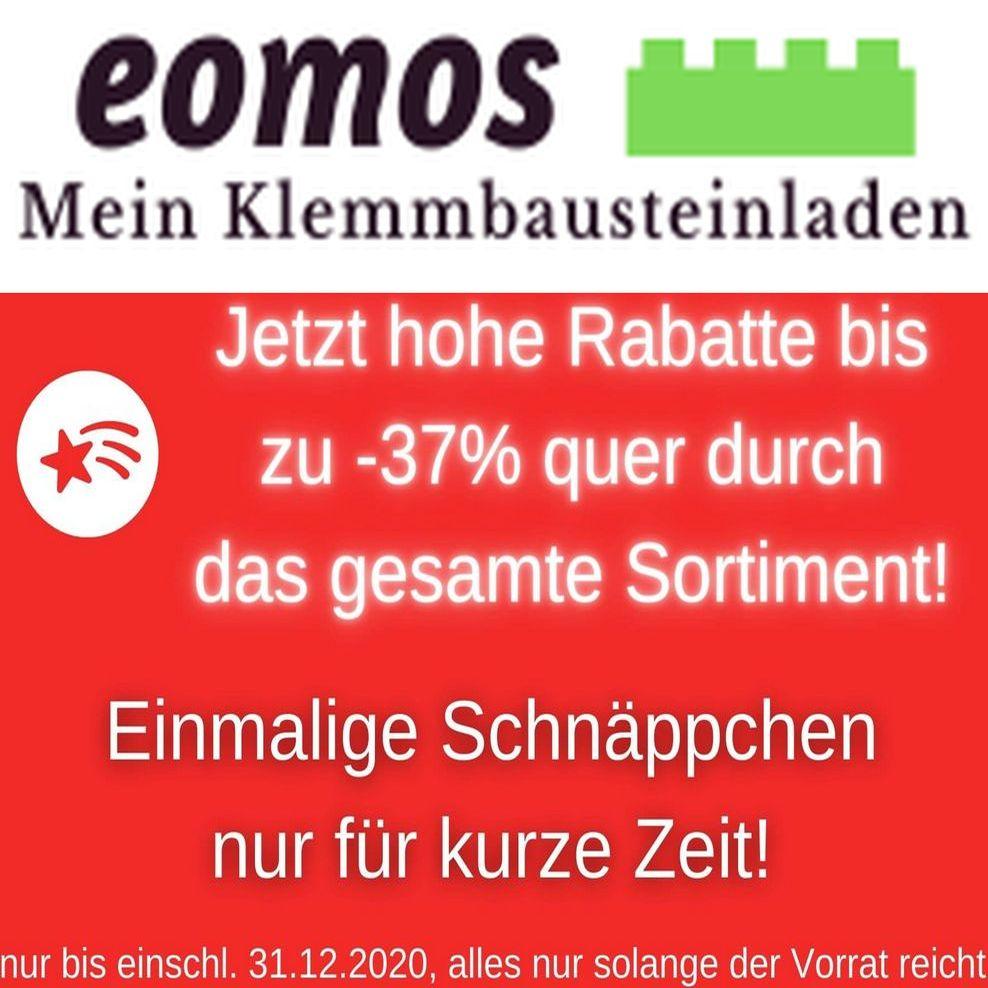 [Klemmbausteine] Lagerräumungsverkauf @ eomos-meinklemmbausteinladen.de