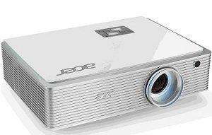 Acer K750 DLP-Projektor (1920x1080 Pixel, Kontrast 100000:1, 1500 ANSI Lumen, HDMI, Full HD, S-Video)
