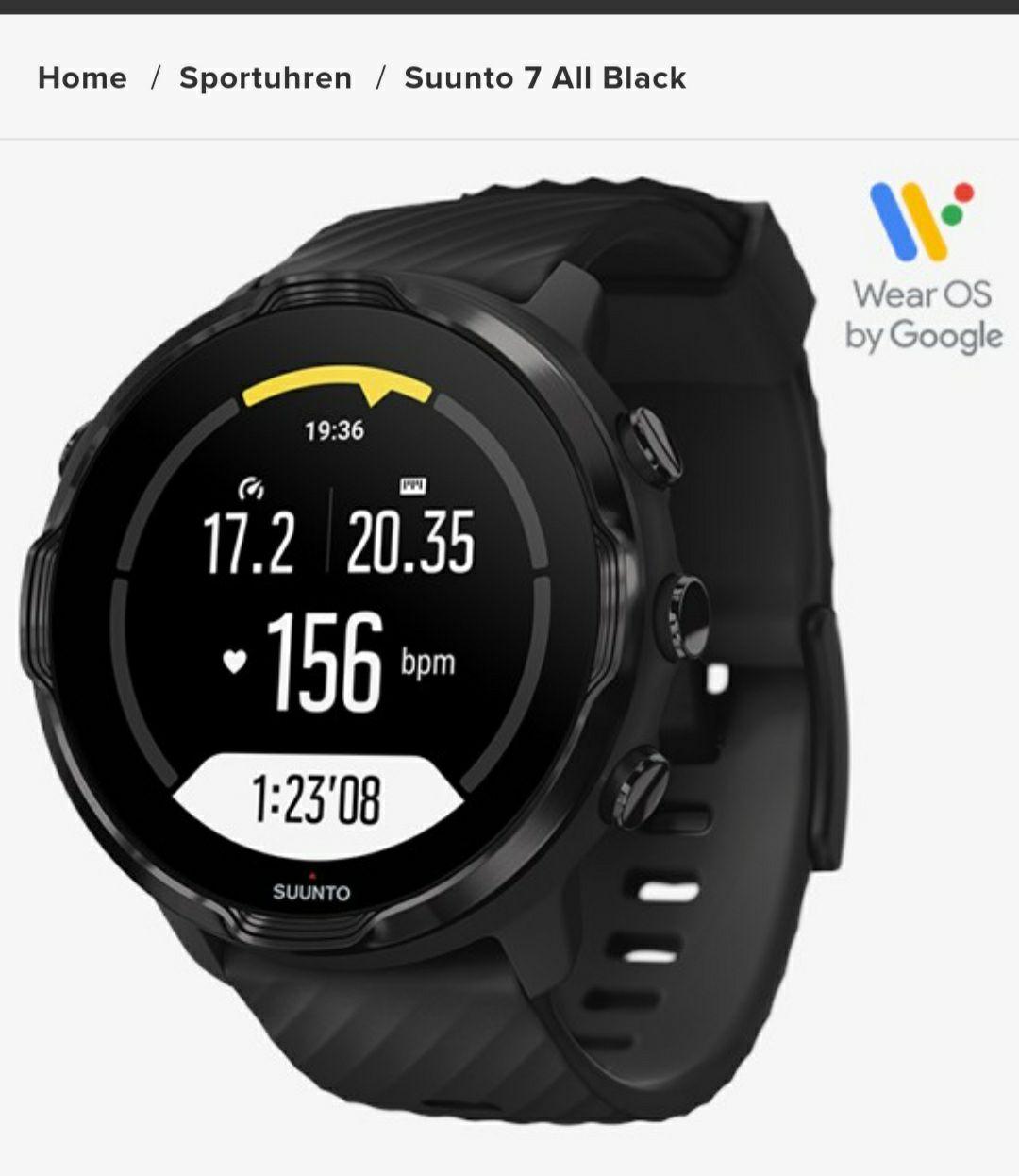 [CB] Suunto 7 Black Smartwatch