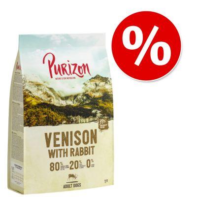 (Zooplus) Purizon Hundefutter (Trockenfutter) zum Probierpreis (4,85€ / Kg) verschiedene Sorten