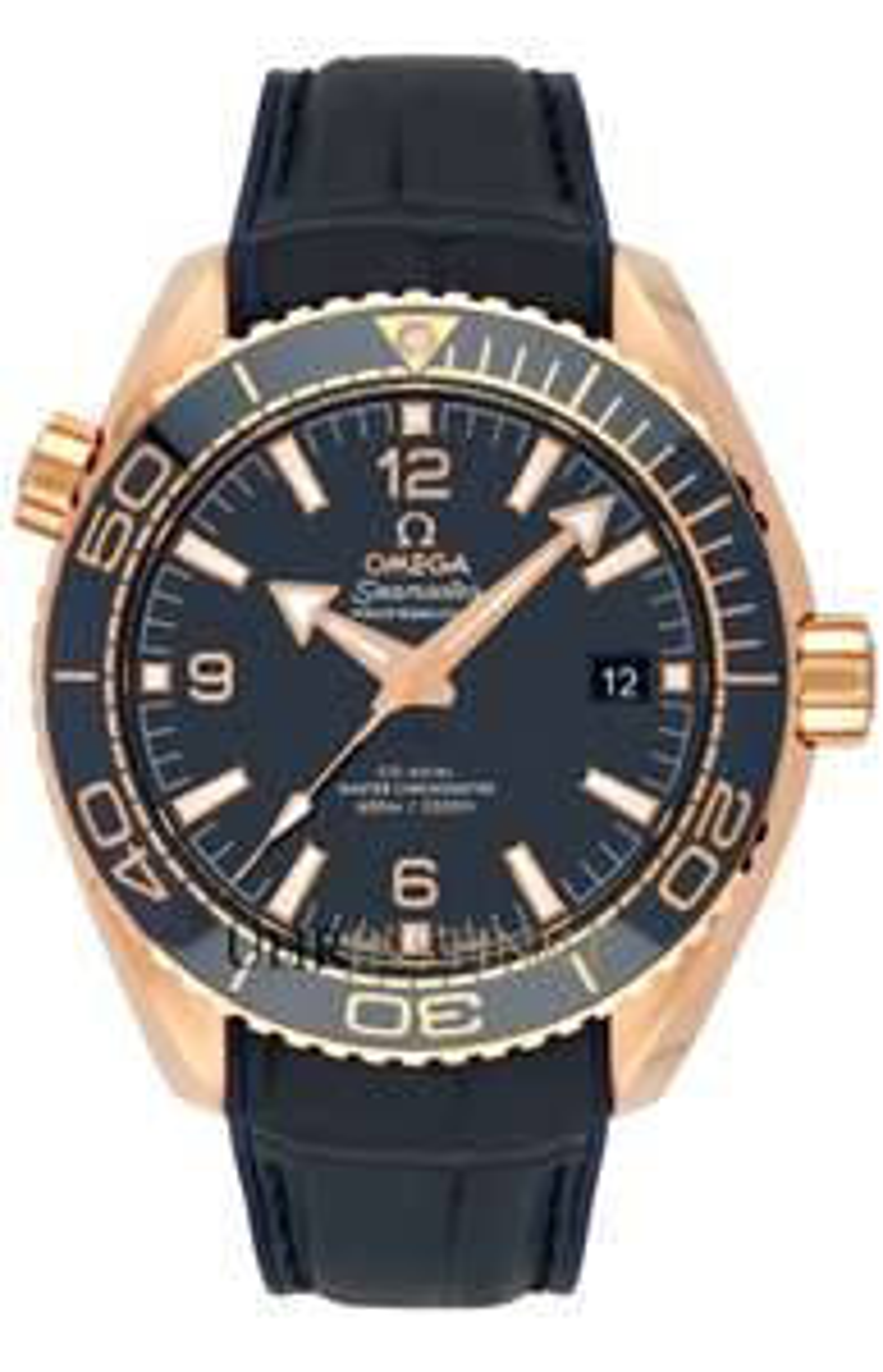 Omega Seamaster Planet Ocean Automatikuhr 18kt Roségold Keramiklünette