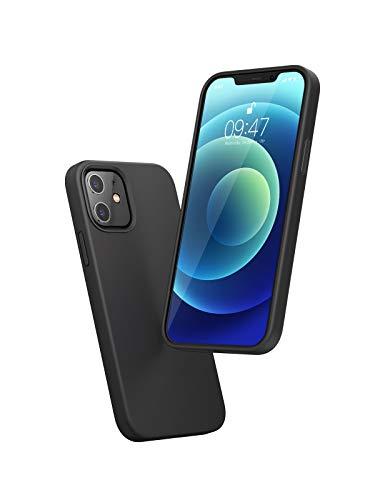[Amazon Prime] UGREEN Schutzhülle für iPhone 12 & 12 Pro (Silikon, leichter Überstand an Bildschirm und Kameralinse, weiches Innenfutter)
