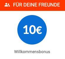 iGraal - KwK - Erhöhung des Willkommensbonus auf 10 € für Geworbene - der Werber bekommt aktuell 5 € statt 3 €