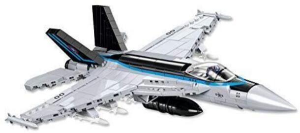 COBI Top Gun Maverick F/A-18E Super Hornet Klemmbausteine Bausatz 1:48 [Saturn]