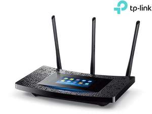 """TP-Link Dual-Band WLAN-Repeater """"RE590T AC1900"""" (4 Gigabit Ports, Mit Touch-Screen) [iBOOD]"""