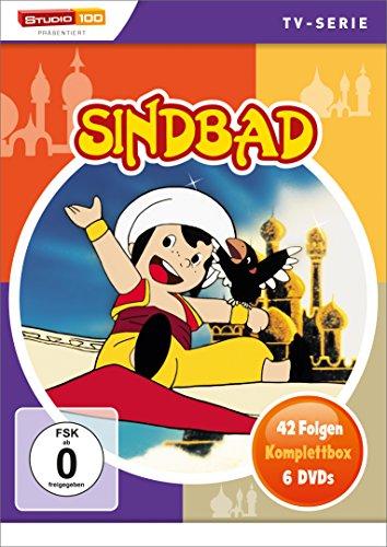 Sindbad - Die komplette Serie (42 Folgen auf 6 DVDs) für € 18,- (Amazon Prime)