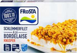 FROSTA Schlemmerfilet Alaska-Seelachs-Filet mit Toppings, versch. Sorten je 360g-Packung [Kaufland]