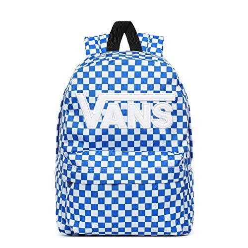 (Prime) Vans Old Skool III Backpack Victoria Blue Check