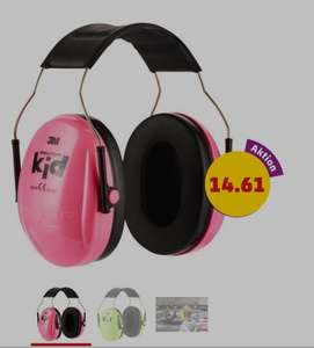 3M™ Peltor™ Kid Kapselgehörschutz [Penny] [29.12. - 02.01.] auch online