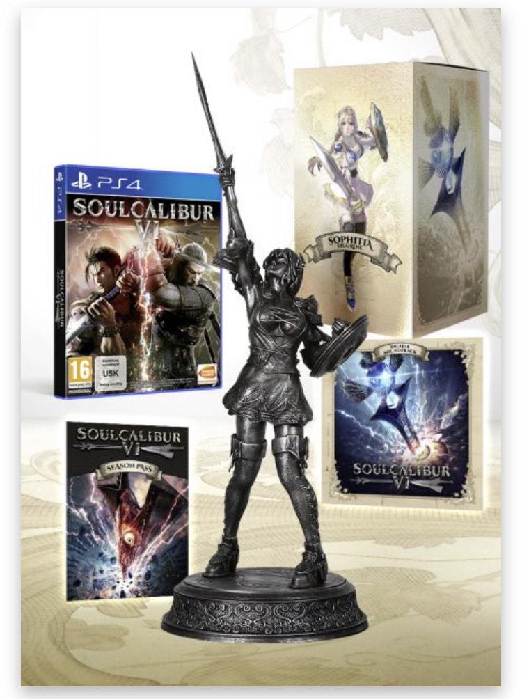 SOULCALIBUR VI - LIMITED SILVER COLLECTOR EDITION [PS4]