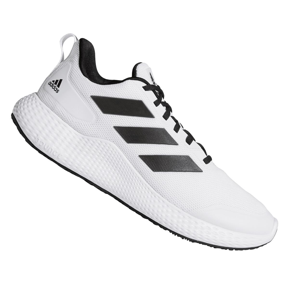 adidas Laufschuh edge gameday weiß/schwarz (Größen 40 2/3 bis 48)