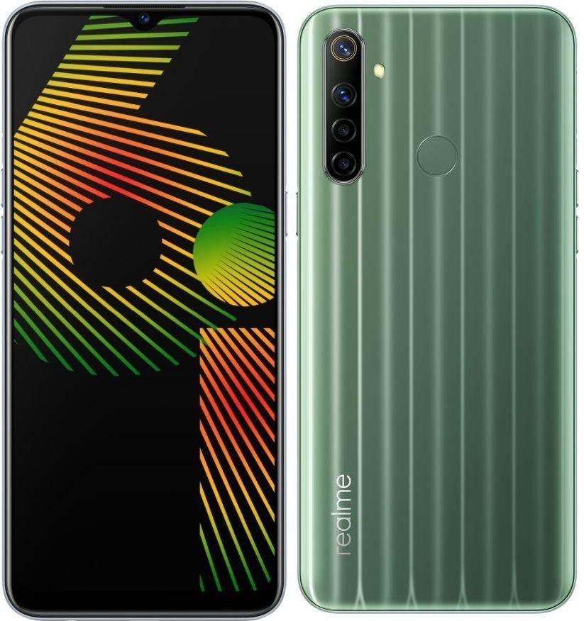 Realme 6i Dual-SIM Smartphone 128 GB 6.5 Zoll (16.5 cm) Dual-SIM Android™ 10 Grün