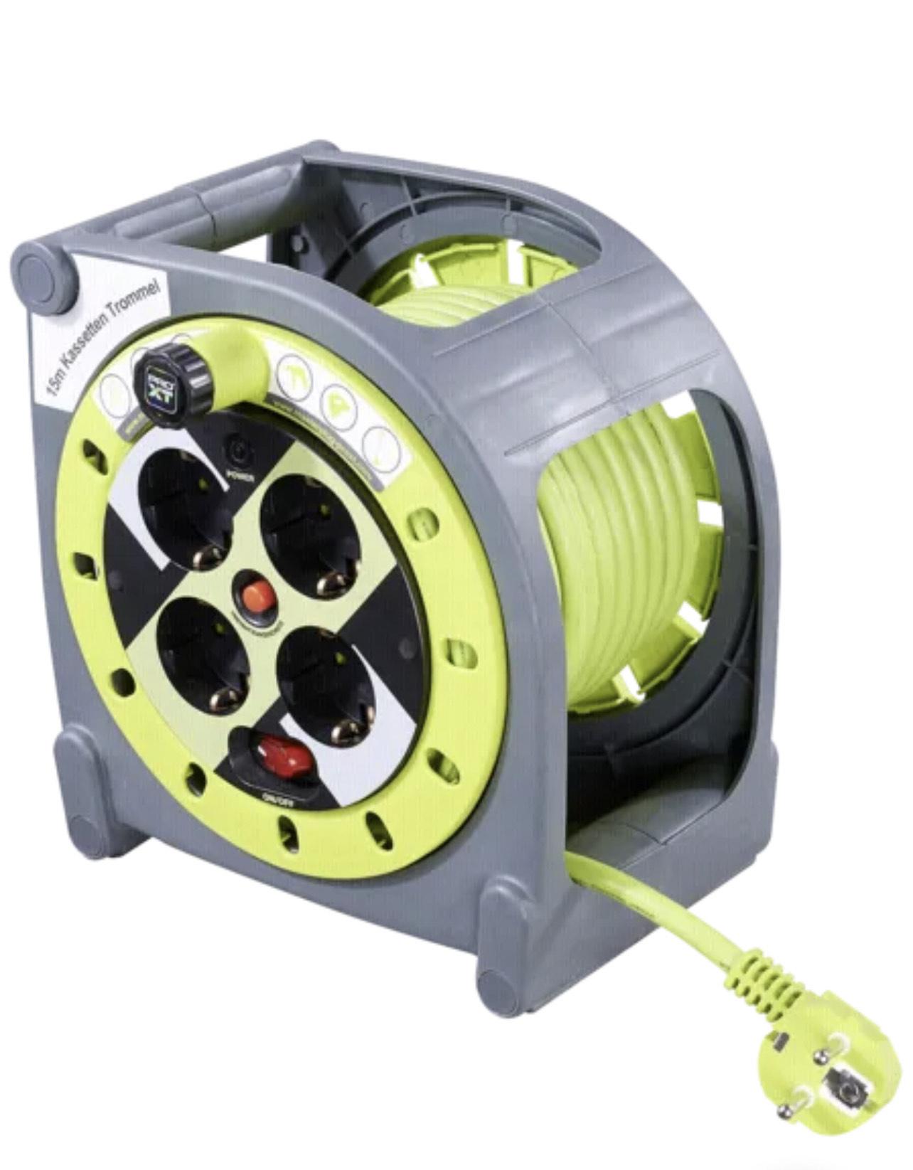 [Maingau-Energie Kunden] Masterplug ProXT Kabeltrommel M 15m