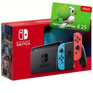 Nintendo Switch + 25€ Nintendo eShop Gutschein mit Otelo Allnet-Flat Go (5GB LTE) für 53,99€ Zuzahlung & mtl. 14,99€ [VF-Netz]