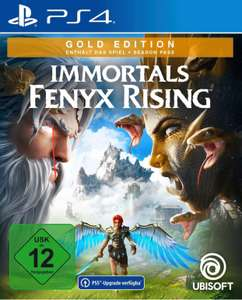 IMMORTALS FENYX RISING Gold Edition [PS4] inklusive PS5 Upgrade