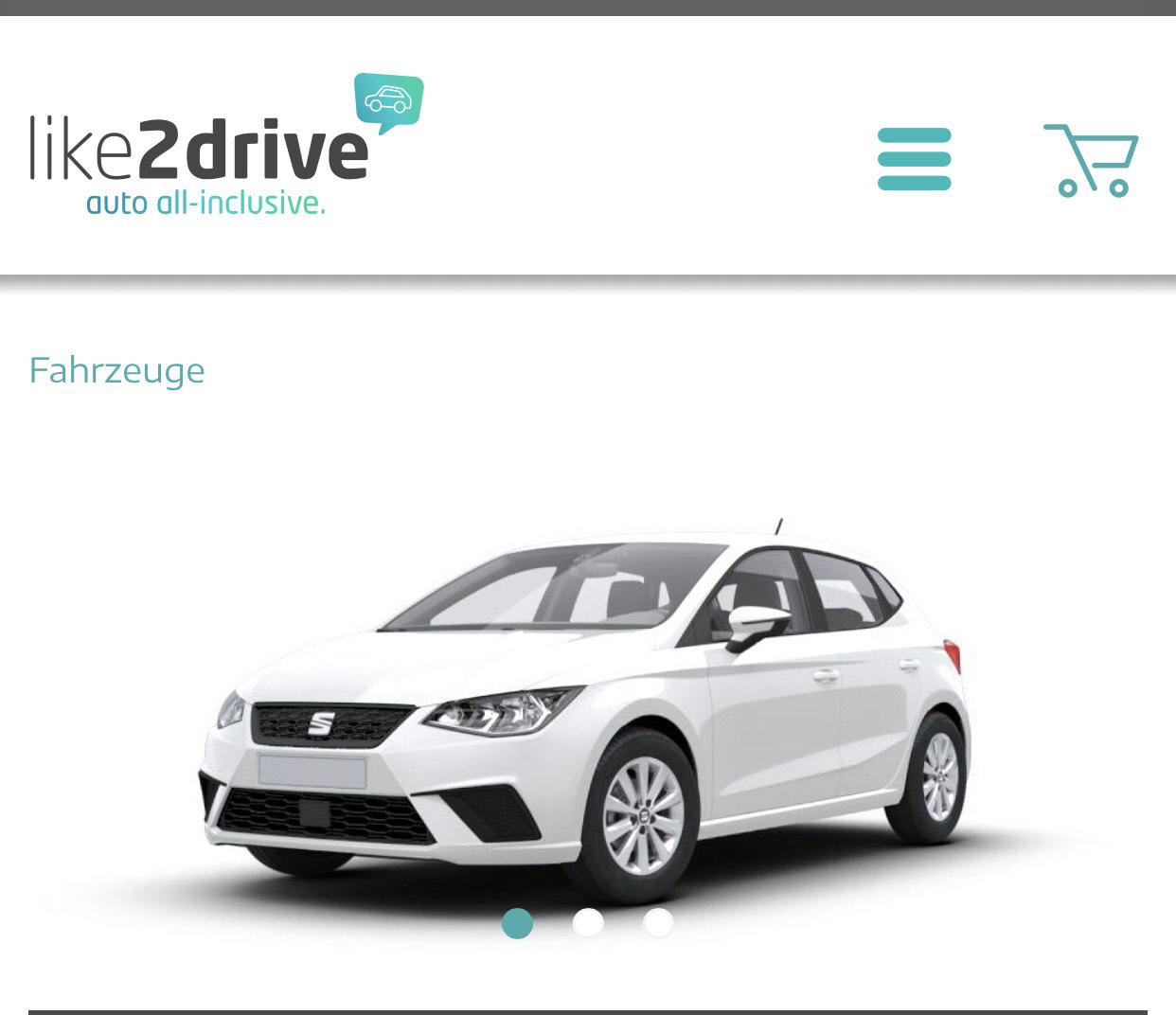 AutoAbo / Leasing Alternative inkl. Versicherung / Seat Ibiza CNG / 6M 199€ p.M. /10.000 km
