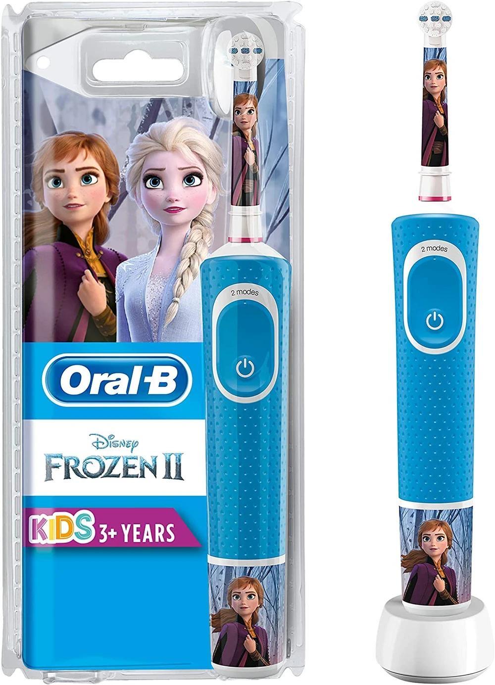 Oral-B Kids Frozen 2 Wiederaufladbare Elektrische Zahnbürste