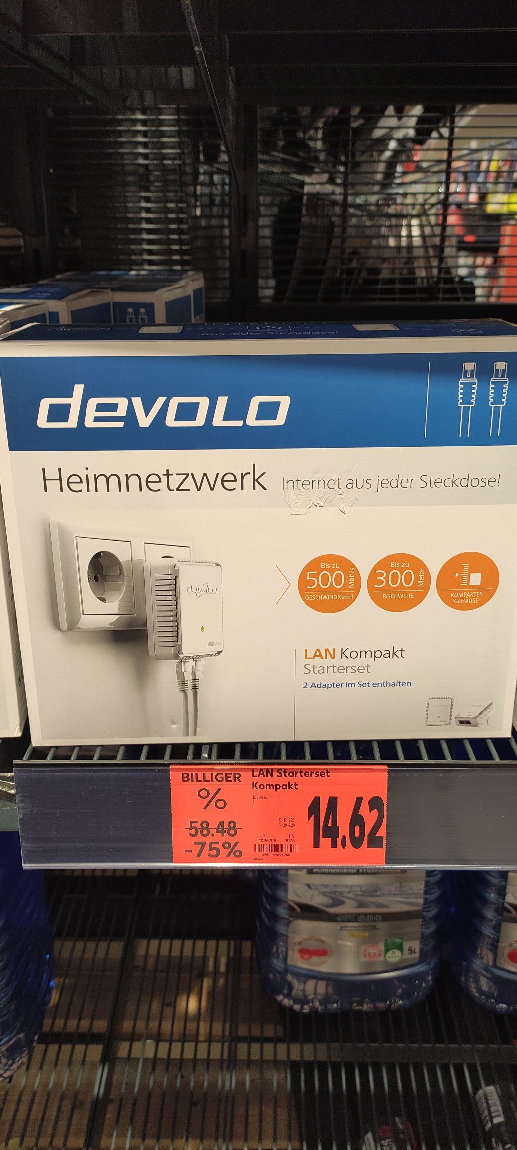 Devolo Heimnetzwerk LAN Kompakt Starterset (Kaufland Senftenberg)