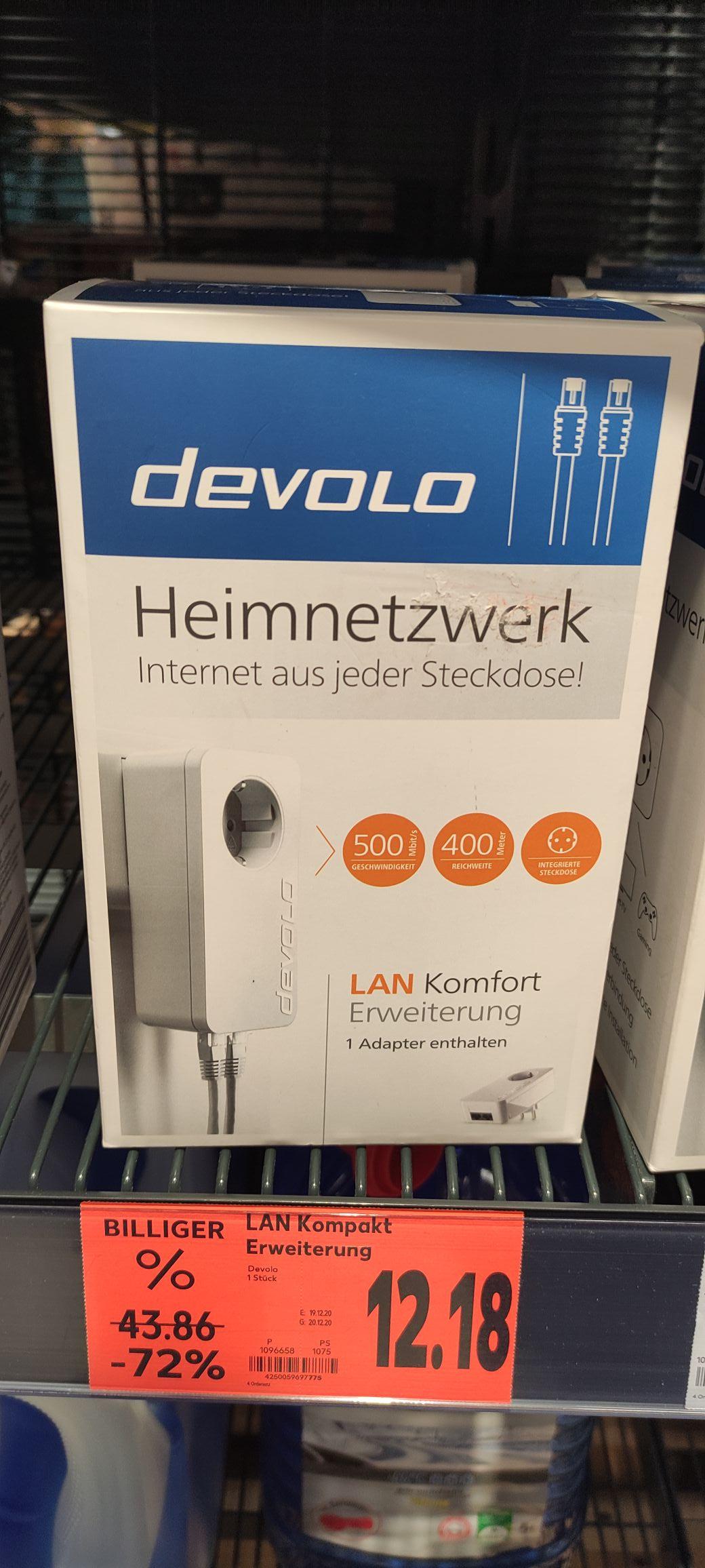 devolo 09777 LAN Komfort Erweiterung Heimnetzwerk (Kaufland Senftenberg)