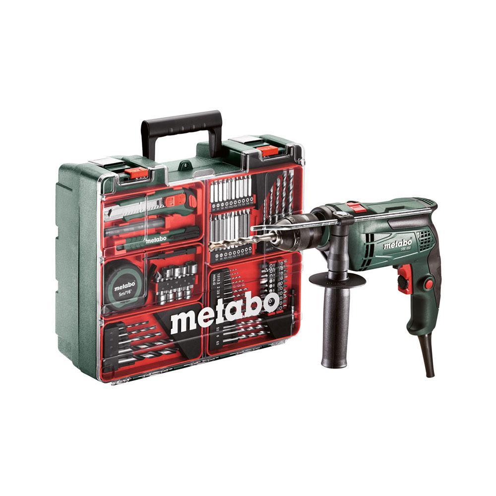 Metabo Schlagbohrmaschine SBE 650 + Zubehörset